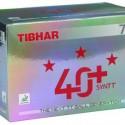 ПЛАСТИКОВЫЕ МЯЧИ TIBHAR 40+ SYNTT   в упаковке 72 шт.белые