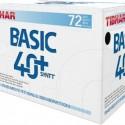 ПЛАСТИКОВЫЕ МЯЧИ TIBHAR BASIC 40+ SYNTT  в упаковке 72 шт.