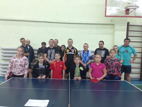 Турнир 'Новороссийской ассоциации настольного тенниса' в